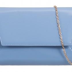 Listová kabelka Milena svetlo modrá