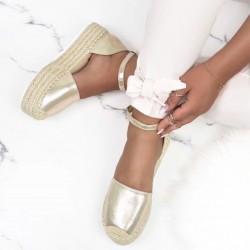 Espadrilkové sandále Jill zlaté