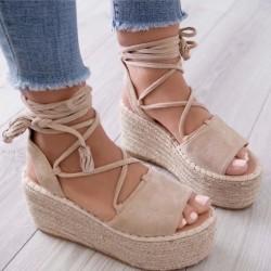Espadrilkové sandále Melinda béžové