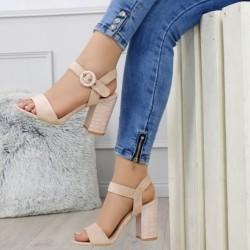 Béžové sandále Gina