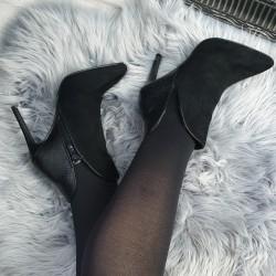 Čierne kotničky Sidonna