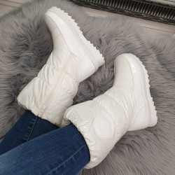Biele snehule Frozen