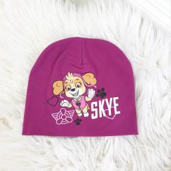 Detská čiapka Skye cyklaménová