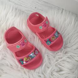 Dievčenské sandálky Paw Patrol červené