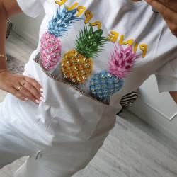 Štýlové tričko Pineapple