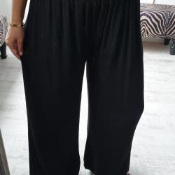 Letné nohavice Deli čierne