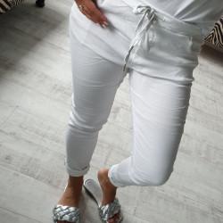 Letné nohavice Aurelia biele