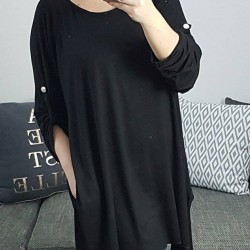 Oversize tunika Nella čierna