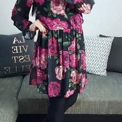 Kvetinové šaty Rose