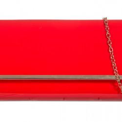 Listová kabelka Vera červená