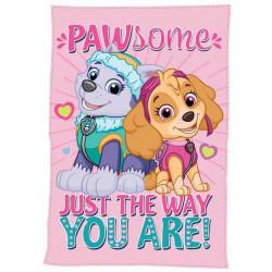 Detská deka Paw Patrol dievčenská