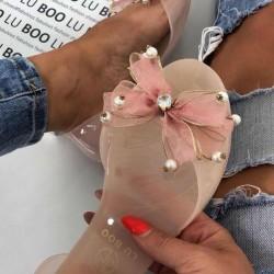 Gumené balerínky Lyda ružové