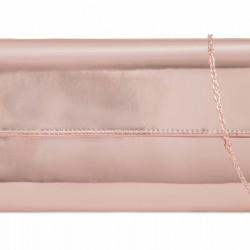 Zrkadlová kabelka Chloe rose gold