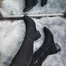 Zateplené čižmy Darcy čierne