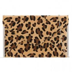 Leopardia listová kabelka