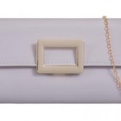 Listová kabelka Sally sivá