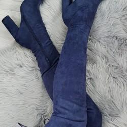 Modré čižmy Pretty