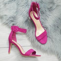 Cyklamenové sandále Timea