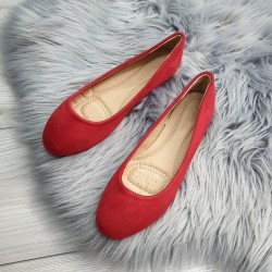 Baleríny Tilia červené