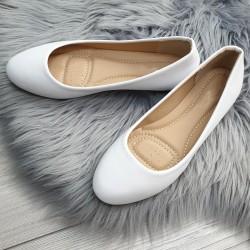 Baleríny Tilia biele