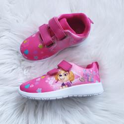 Dievčenské botasky Paw Patrol ružové