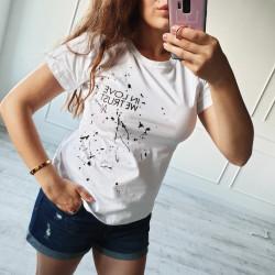 Tričko IN LOVE biele