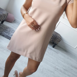 Béžové šaty Felice