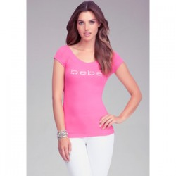 Tričko Bebe ružové