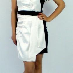 Asymetrické šaty Modena
