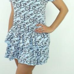 šaty Love modré
