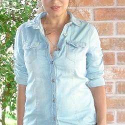 Rifľová košeľa Maya