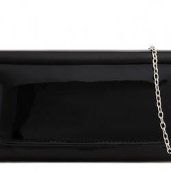 Listová kabelka Kara čierna