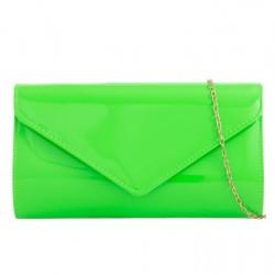 Listová kabelka Patty neónovo zelená