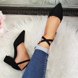 Čierne sandále Olla 2