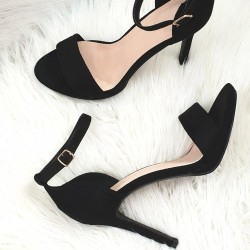 Čierne sandále Janice