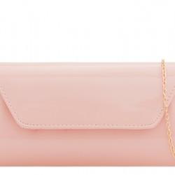 Listová kabelka Kendra púdrovo ružová