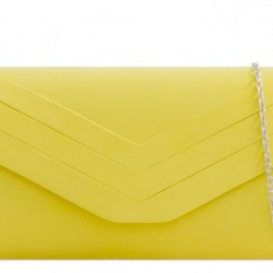 Žltá semišová kabelka Siona