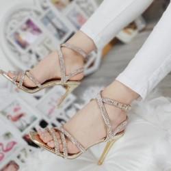Zlaté sandále Celebrity