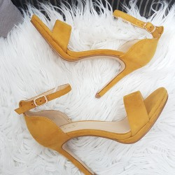 Horčicovo žlté sandále Janice