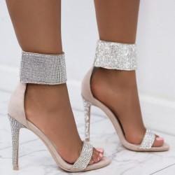 Sandálky s kamienkami Ambra