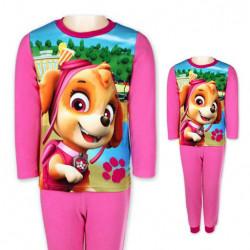 Paw Patrol dievčenská pyžama ružová