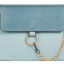 Luxusná kabelka v štýle Chloe mentolova