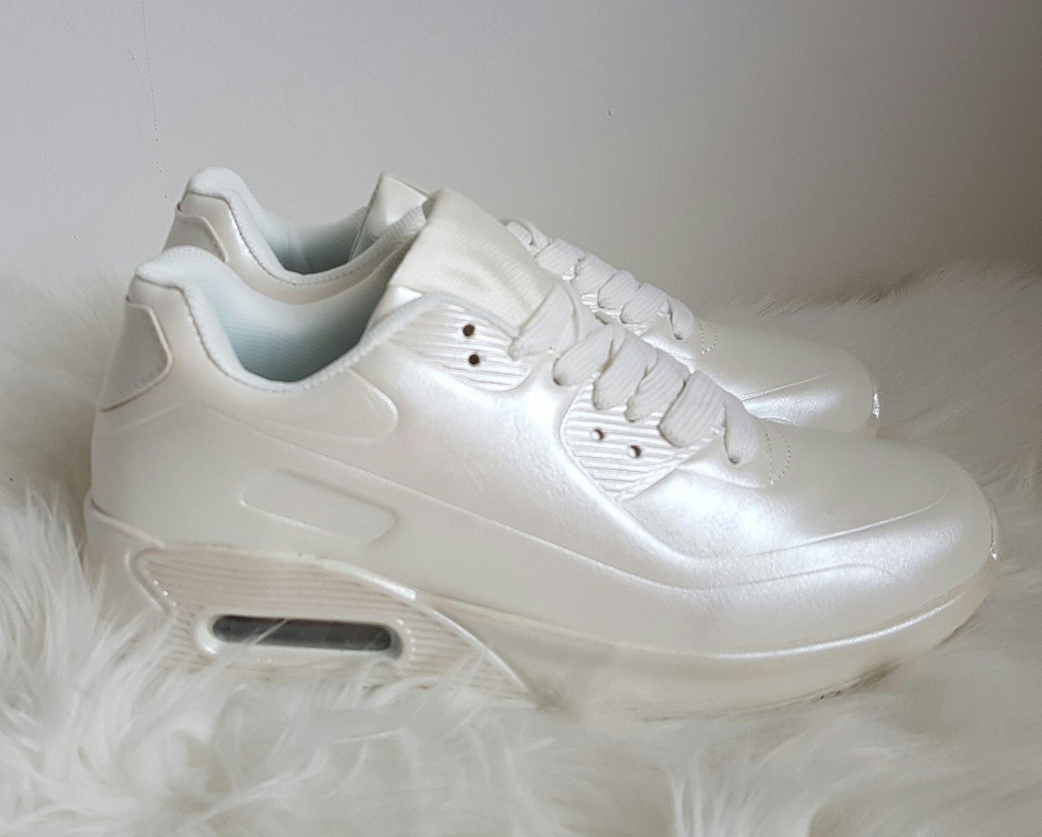 4211c5e1bc botasky v štýle air max perleťovo biele · Kliknite pre zväčšenie obrázku
