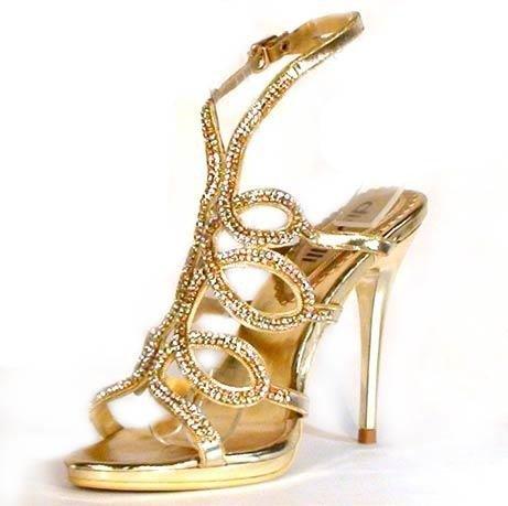 2f113e0c4107 Spoločenské sandále divalli 063-C zlaté · Kliknite pre zväčšenie obrázku