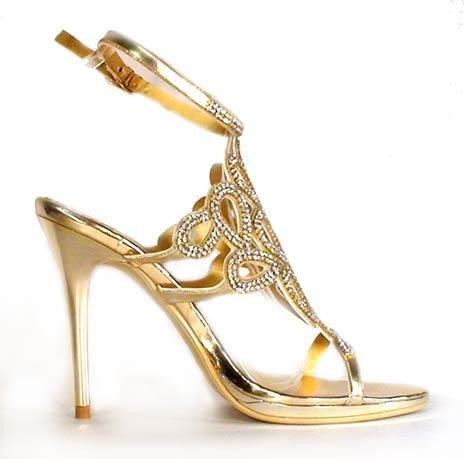 cf53b25d08f6 Spoločenské sandále divalli 97012 zlaté · Kliknite pre zväčšenie obrázku