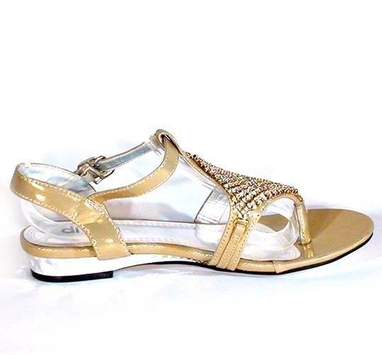 31a7dee8ace6 Nízke sandále divalli A216 zlaté · Kliknite pre zväčšenie obrázku