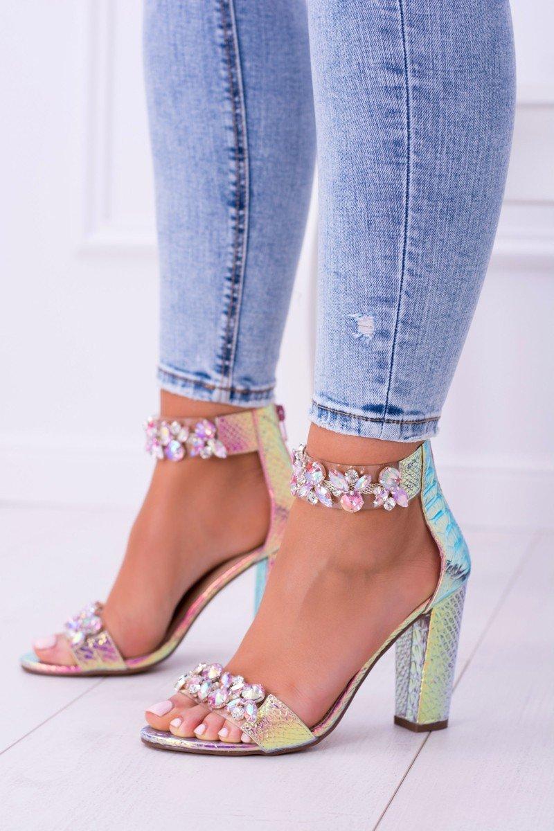 315af3afef03 Luxusné sandálky s kryštálikmi Sally ružové · Kliknite pre zväčšenie obrázku