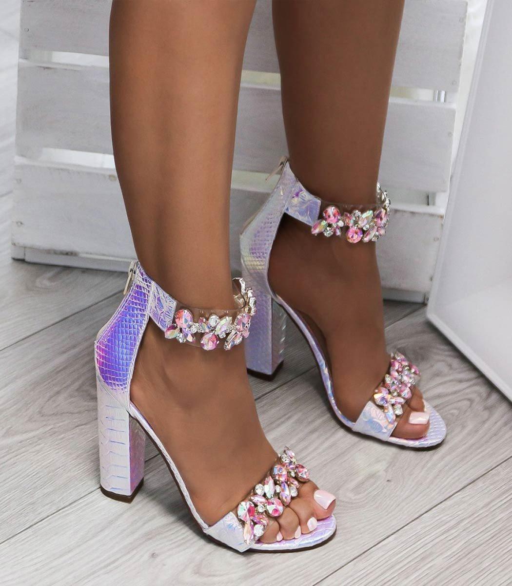 6f6535aab29c Luxusné sandálky s kryštálikmi Sally - Divalli.sk