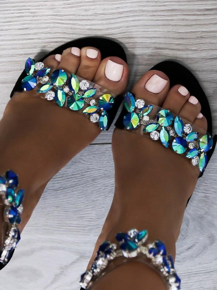 d962122046ef Luxusné sandálky Sally čierne - Divalli.sk